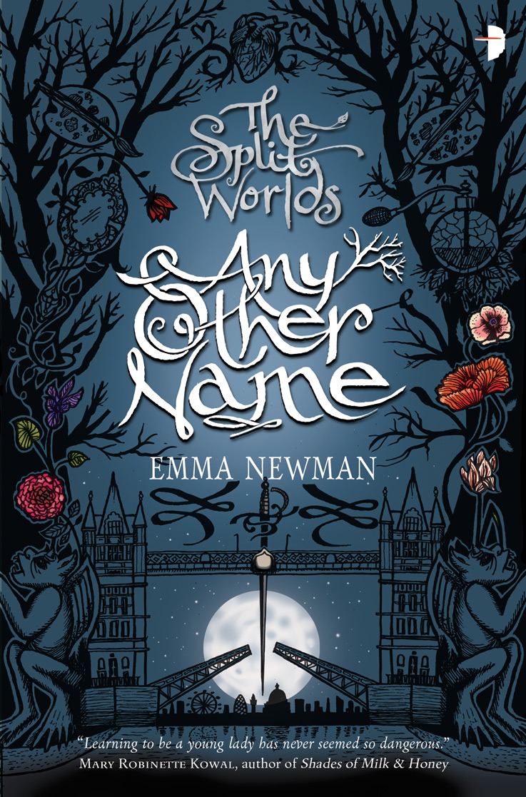 Any Other Name by Emma Newman, Artwork by Sarah J. Coleman