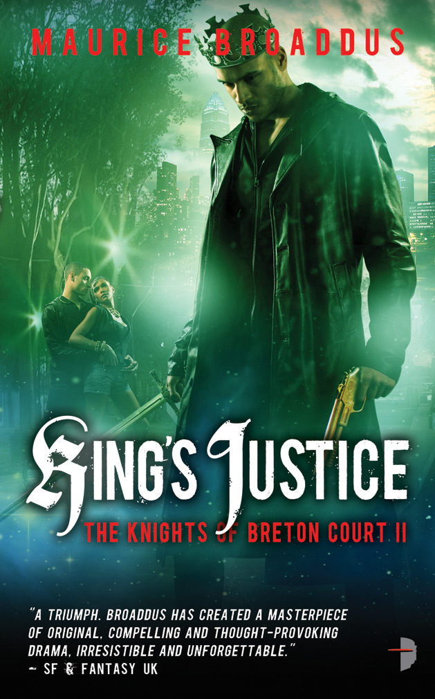King's Justice, by Maurice Broaddus