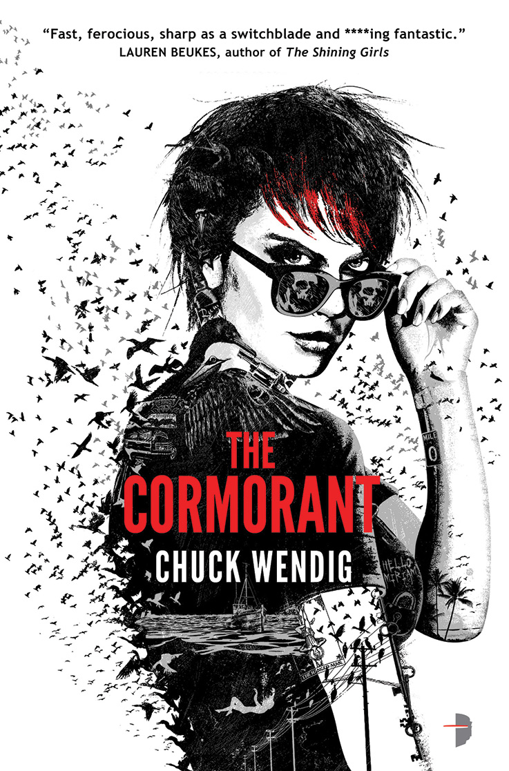 Joey HiFi's Amazing Cover for Chuck Wendig's The Cormorant