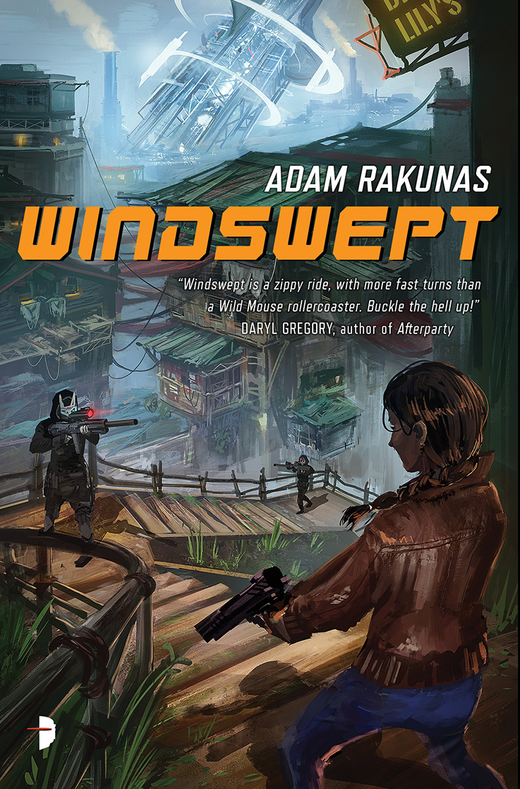 Windswept by Adam Rakuna